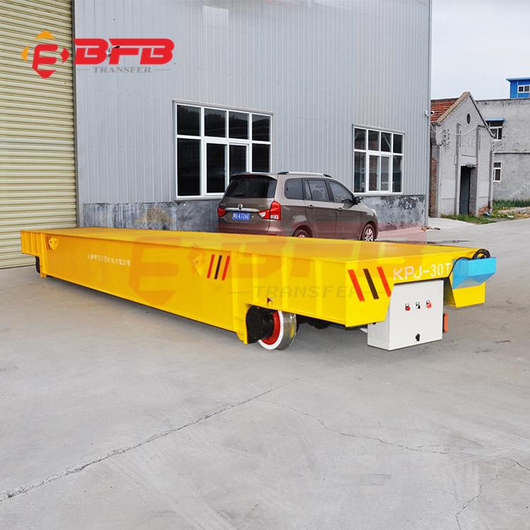 钢铁厂10吨喷涂电动平车 电动平板运输车 超级电容穿梭车设备