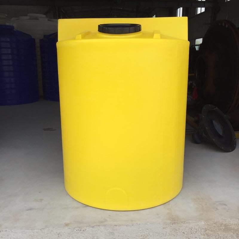 3立方塑料反应釜平底PE搅拌罐