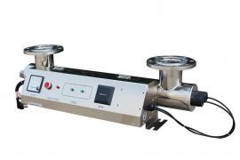 304不锈钢泳池水消毒杀菌设备紫外线杀菌器过流式管道式明渠式