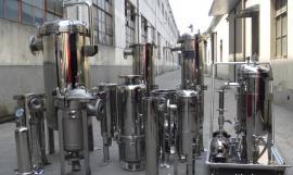 法兰式袋式过滤器160吨200吨210吨350吨大流量不锈钢材质