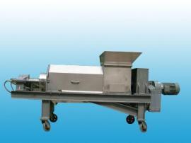食堂泔水垃圾处理设备螺旋压榨机脱水机