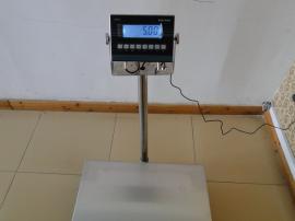 300公斤CT4beplay体育中国官网台秤,防爆不锈钢台称