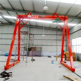 加工定做MH32t无轨轮式龙门吊 可升降龙门架