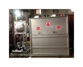 磨砂机械配套节能环保水循环闭式冷却塔BY-BL-60T
