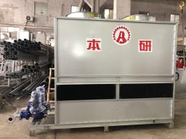 磨砂�C械配套�能�h保水循�h�]式冷�s塔BY-BL-30T