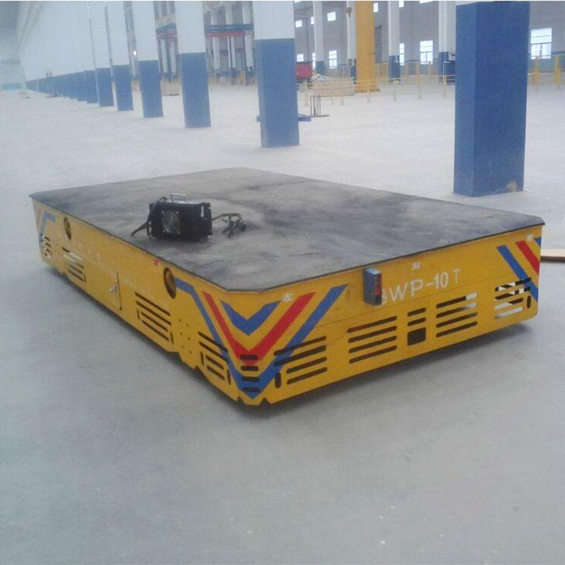 PERFT定制模具转运25T无轨平车 电动无轨胶轮转运平板车BWP