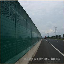 隔音屏障公路金属彩钢板声屏障