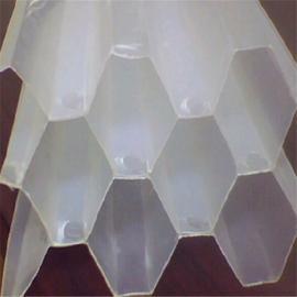 六角蜂窝斜管填料 污水处理沉淀池专用pp斜管填料
