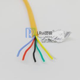 6芯0.5/0.75/1.0/1.5mm2硅胶线YGC 6*0.5mm2 耐高温硅橡胶电缆