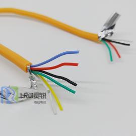 耐高温500°C多芯硅胶线2芯/3芯/4芯/5芯/6芯/8芯/10芯屏蔽硅胶线