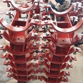 佰誉生产双螺栓管夹,基准型双螺栓管夹实体,鑫佰