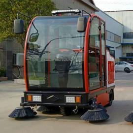 建筑工地用驾驶式扫地车全封闭小区公园道路用大型清扫车DK2100