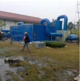 污水�理�S��氧好氧生物池加�w收集臭�� 玻璃�生物除臭�O��