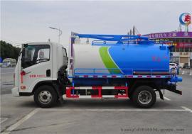 5立方5吨沼液抽渣车,5方自吸自排式沼液运输车价钱配置,描述