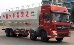 32方散装饲料运输车|牧畜饲料运输车