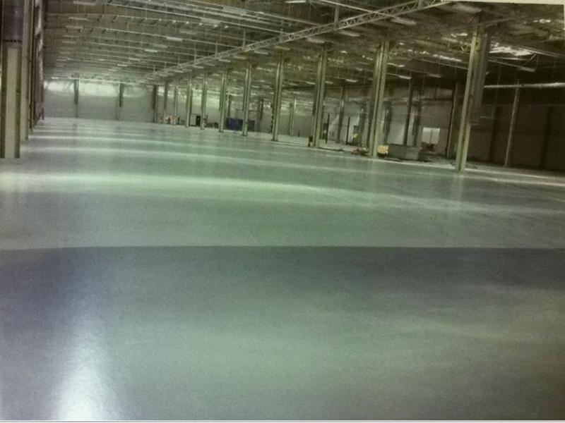 聚氨酯高耐磨罩面地坪