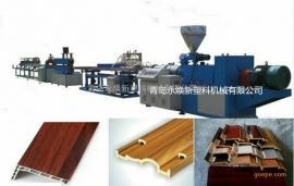 木塑线条机器