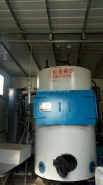立式生物质蒸汽锅炉,1.5吨火管炉