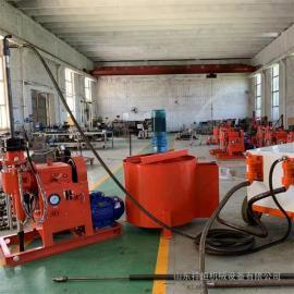 WSS钻注一体机 中铁工程用双液注浆钻机 钻注一体机整套配备