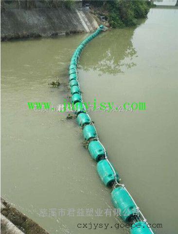 直径400长1000湖面拦截水草塑料浮筒
