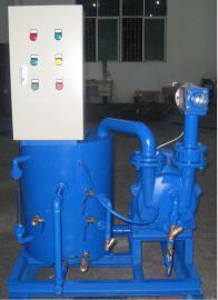定制风冷水环真空机组2FW1-060 自带循环水系统、100%无油设计