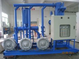 清扫真空泵机组定制 清扫真空系统 厂房清扫 除尘效率可达99.9%