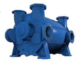 NASH节能液环真空泵2BE4系列 轴承和叶轮改进节能达到6至8%