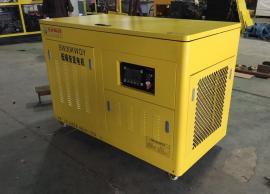 闪威动力柴油静音式发电机组40KW节能环保