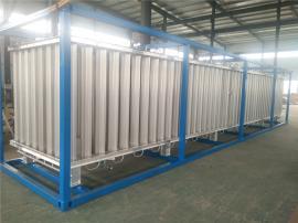 LNG天然气撬装空温式气化器