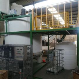 萧 山10立方聚羧酸合成设备减水剂复配罐母液罐滚塑一次成型