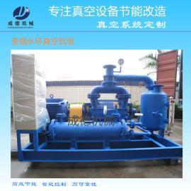 变频水环真空泵机组 提高水环真空泵的效率20% 节能效果显著