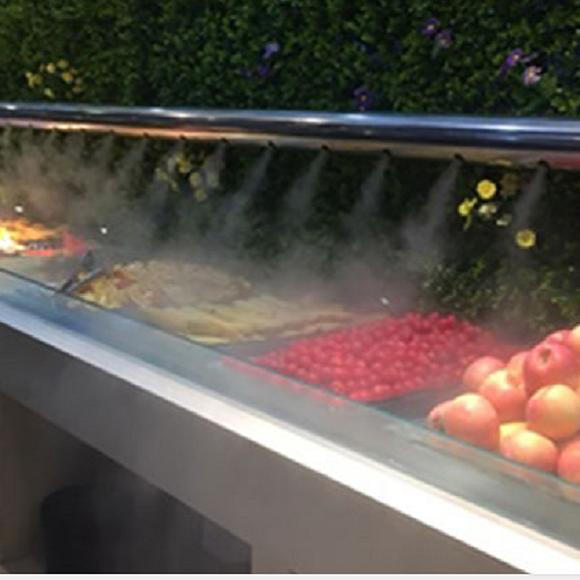 尚格蔬菜瓜果超市水喷雾加湿保鲜机的优点