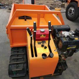 金天机械JT-01手扶式履带运输车 1吨果园运输农用履带车