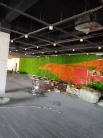 象山绿化工程-仿真植物绿化墙-仿真立体绿化墙