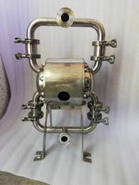 胜士富食品饮料卫生级气动隔膜泵 气动双隔膜泵