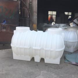 宁 夏2立方三格化粪池新农村改造化粪池一次成型化粪池材质