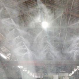 砂石料厂雾森人造雾喷雾降尘设备