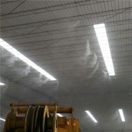 砖厂制砖车间水喷雾降尘设备