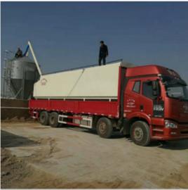转让二手散装饲料运输罐车 饲料散装运输罐车原理及作用