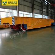 大吨位轨道牵引车 机械舱体转运车 机械手臂轨道搬运车