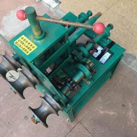 小立式电动弯管机 76型不锈钢管折弯机 小型钢管弯管机