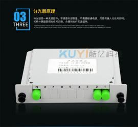 特�r出售1分2插片式光分路器