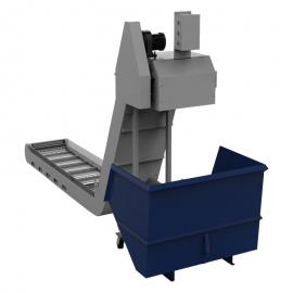 VMC850E车床专用链板式排屑机