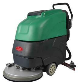 德克威诺 工厂车间水泥大理石环氧地面用全自动移动式刷地清洗机 LC19A