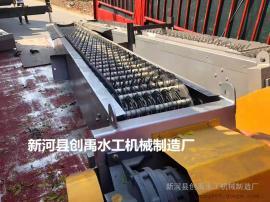 回转式固液分离机 循环齿耙式除污机 不锈钢回转式格栅清污机