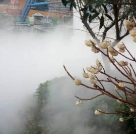 高档园林雾森造雾造景景观系统