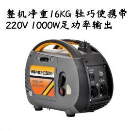 1KW数码变频汽油发电机