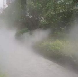 广场雾森人造雾造景喷雾设备