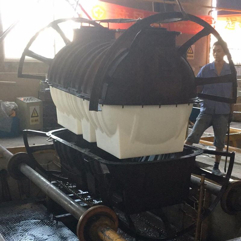 南 昌2立方农村改造化粪池三格化粪池环保化粪池滚塑一次成型