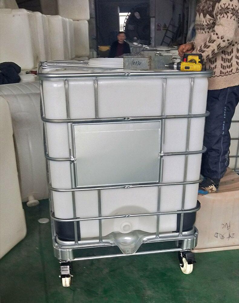 温 州1T防腐蚀化工吨桶环保周转桶包装桶厚度可定制